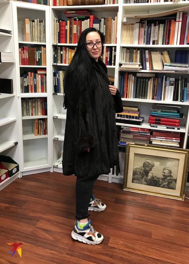 Шуба Людмилы Зыкиной, может, и не самая модная вещь, зато какой раритет.