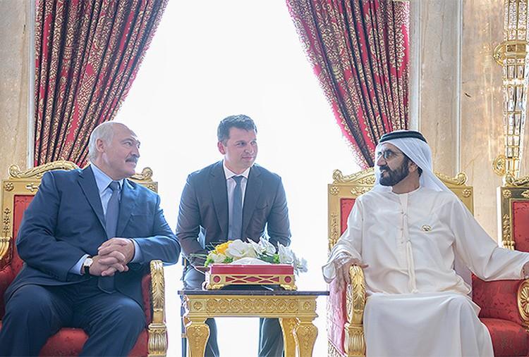 Это была первая официальная встреча за 6 дней, чем занимался президент до этого – не сообщается. Фото: пресс-служба президента Беларуси.