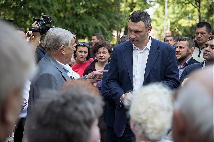 Виталий Кличко. Фото: сайт мэра Киева