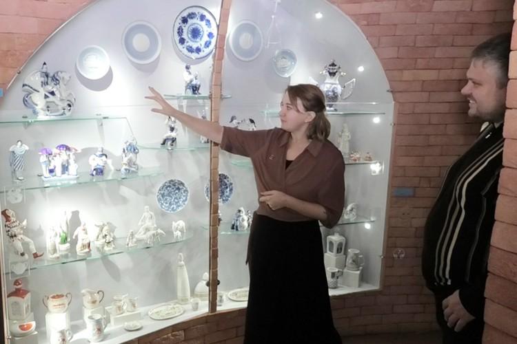 ... и в музеи