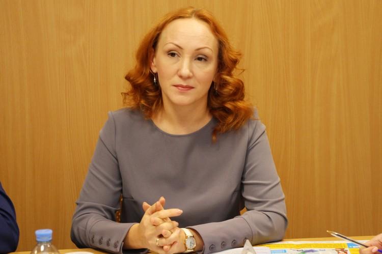 По словам Елены Кашкаровой, вопрос получения соцвыплат наиболее частый среди молодых мам. Фото Ивана Горбунова