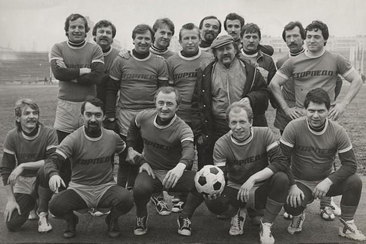 Футбол был основным спортом в «Песнярах». Фото: Личный архив