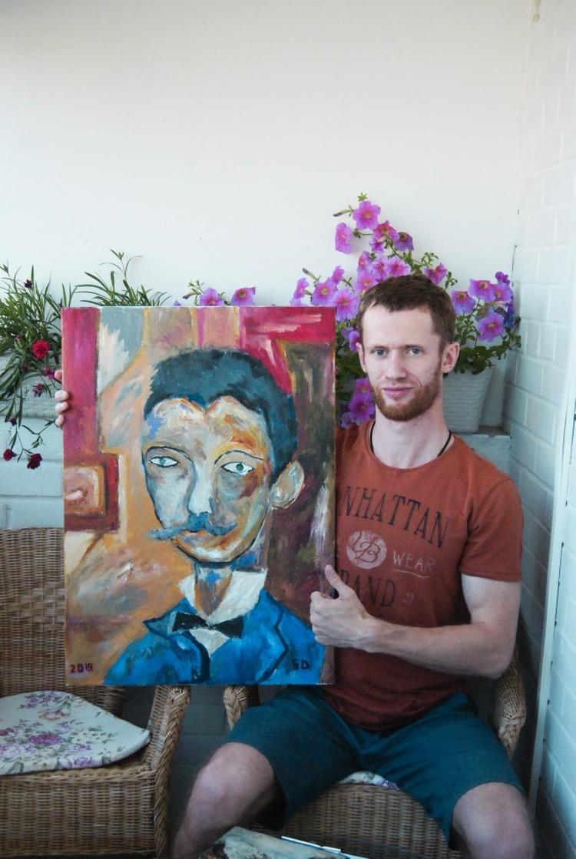 Дмитрий готовит несколько выставок Фото: архив Дмитрия Бывальцева