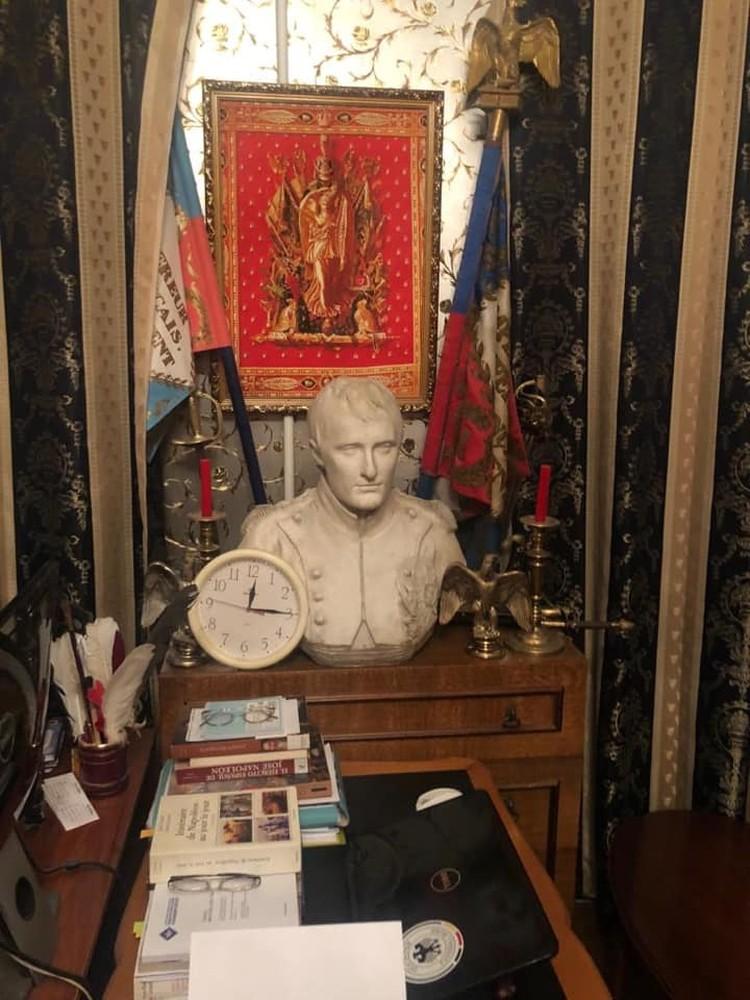 Рабочий стол Соколова Фото: Михаил БУГАЕВ