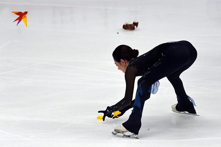 Медведева победила Трусову в короткой программе