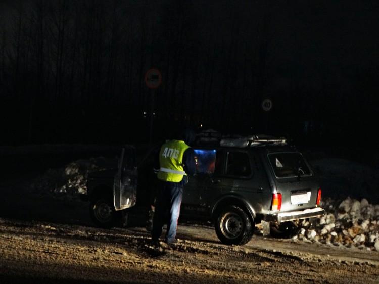 За час с небольшим иснпекторы поймали трех автовладельцев без страхового полиса ОСАГО
