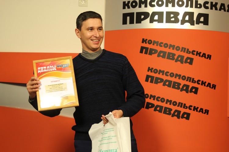 Руслан Воробьев ответственно подходит и к работе, и к творчеству.