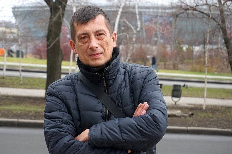 Андрей Лысенко, волонтёр, начальник желдоручастка Донецкой обогатительной фабрики