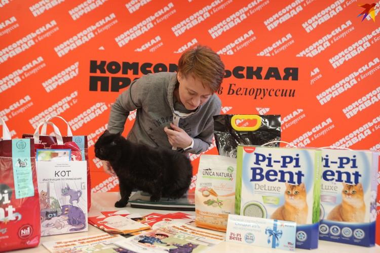 Вес черного экзота Шнапса - 4,3 кг.