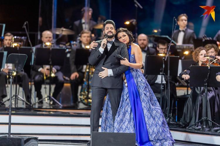 Анна Нетребко с мужем Юсифом Эйвазовым.