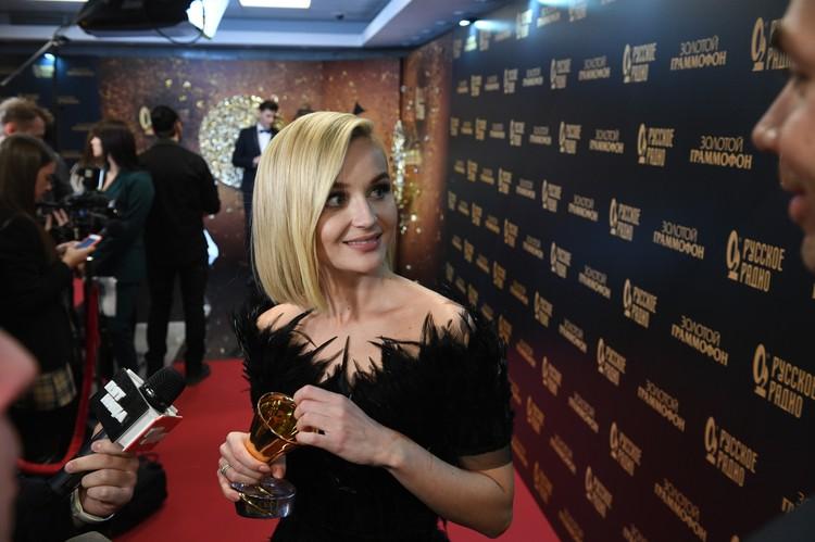 Полина Гагарина вне сцены.
