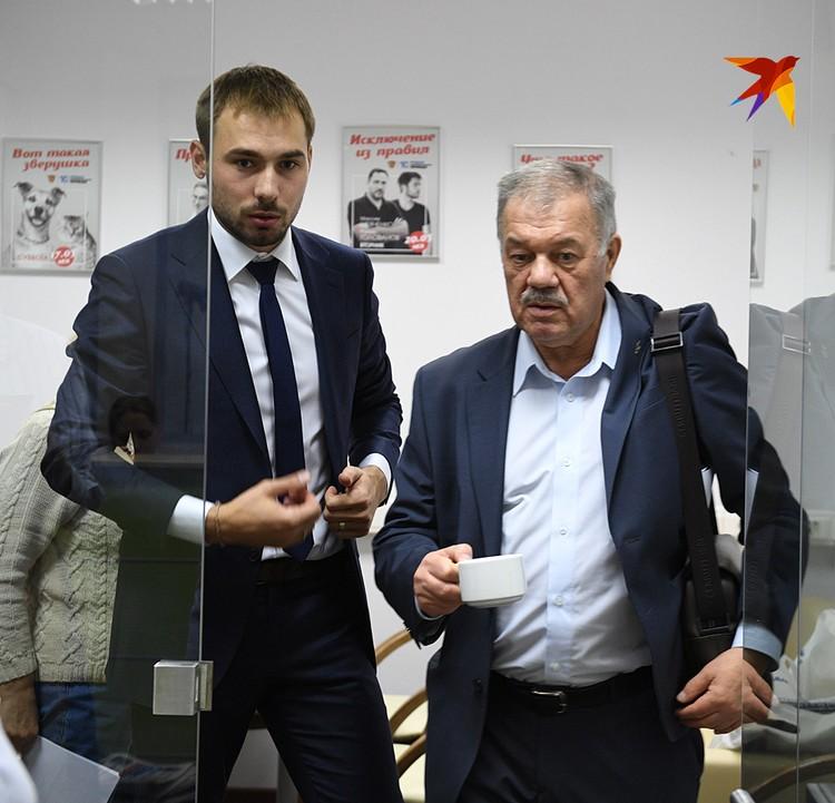 Антон Шипулин и Александр Гамов