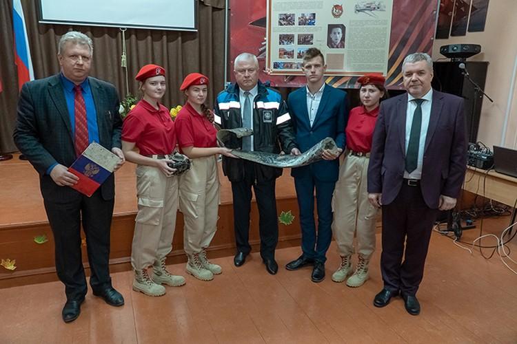 Теперь в школьном музее будут храниться новые военные экспонаты. Фото: АО «Транснефть-Дружба».