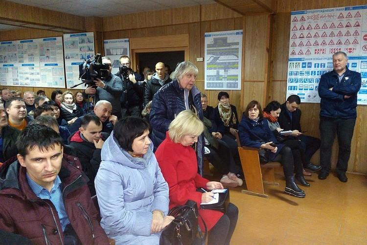 6 ноября состоялась встреча активистов-транспортников с руководителем профильного управления Андреем Михно.
