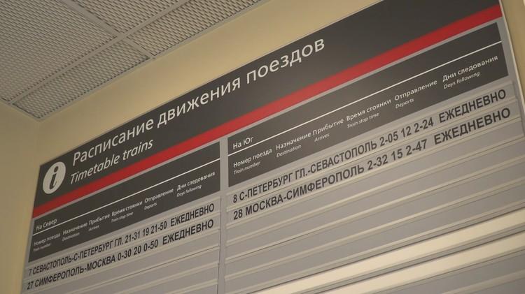 Расписание поездов на станции Тамань