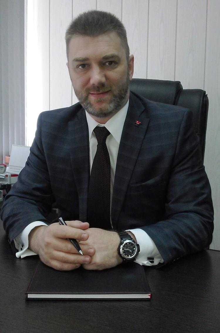 Директор территориального офиса ПАО Росбанк Андрей Белов