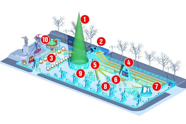 Эскиз проекта, предоставленный администрацией Екатеринбурга