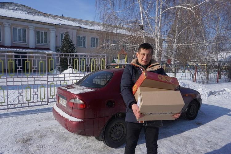 Помощь в детский дом Донецка.