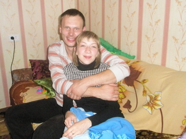 Ирина Банникова с мужем. Фото из семейного архива