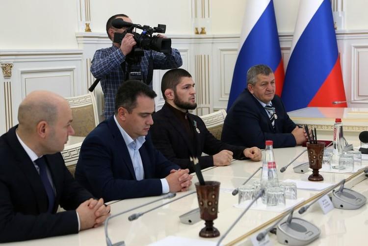 Фото: пресс-служба главы Дагестана