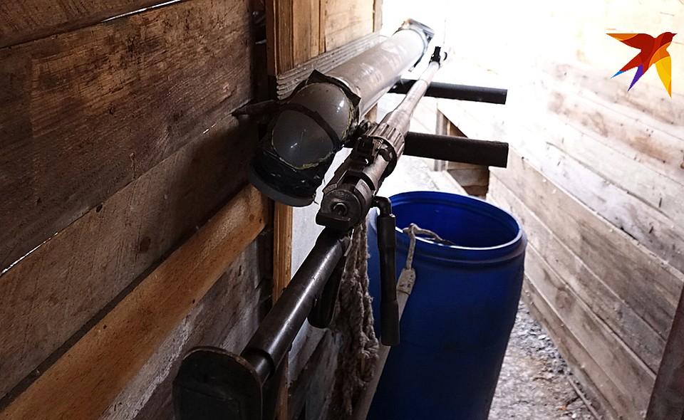 «Дончанка» - крупнокалиберная снайперская винтовка местного производства Фото: Дмитрий СТЕШИН