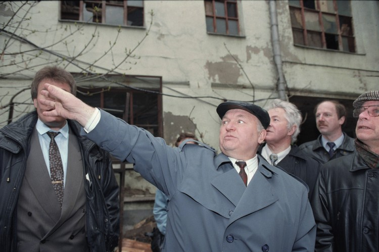 Массовый снос хрущевок в Москве запустил Лужков. Александр Неменов/ТАСС