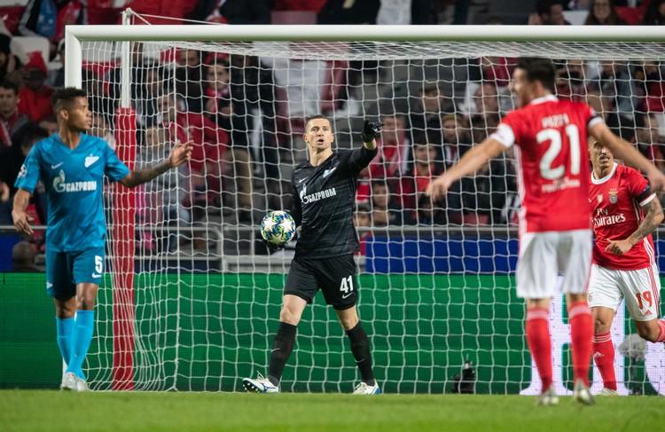 «Бенфики» нужна была победа в два мяча, чтобы пробиться в Лигу Европы.