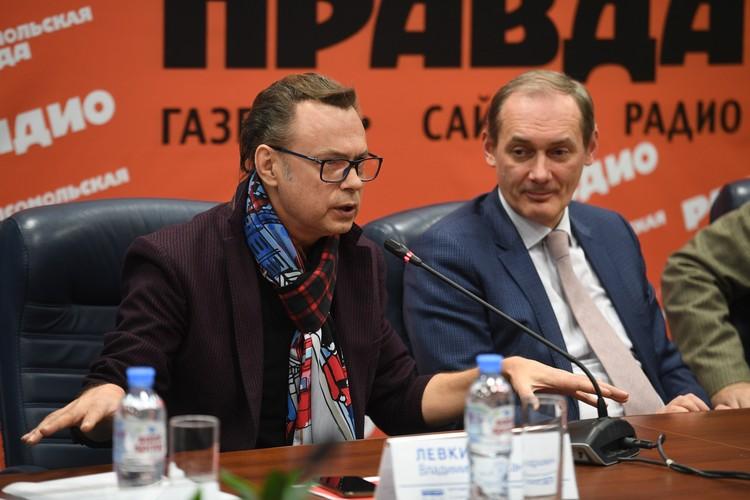 Владимир Левкин, певец, композитор, общественный деятель