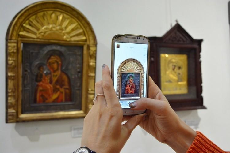 В историко-художественном музее открылась выставка старинных икон.
