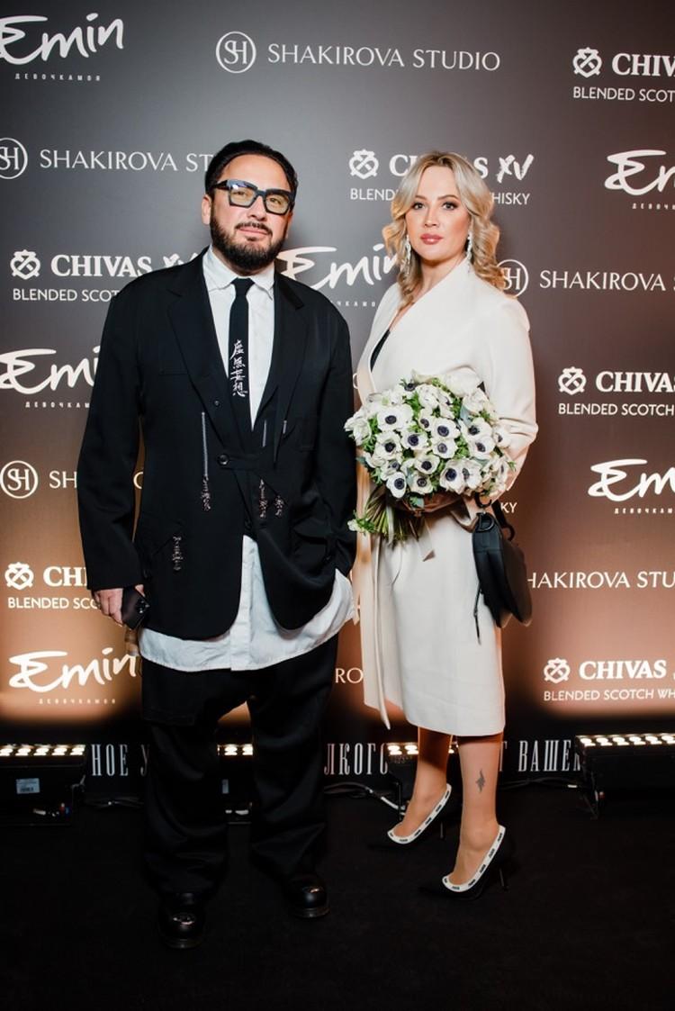 Стас Михайлов с женой Инной.