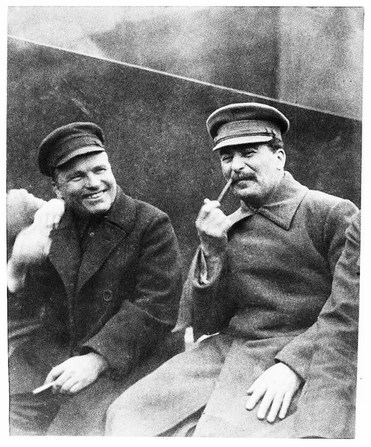 Сталин и Киров. 1934 год - последний в жизни Кирова. Фото: Из книги