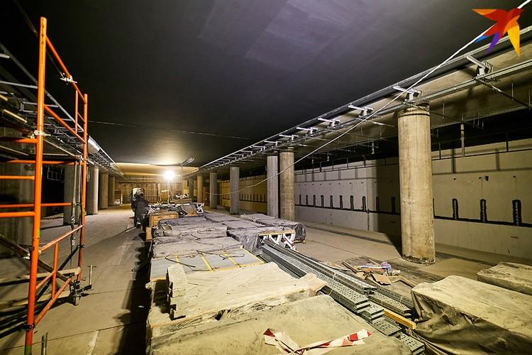 Станция Вокзальная будет стыковочной между первой и третьей ветками метро.