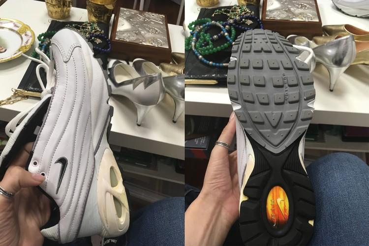 Корреспондент КП купила кроссовки Зыкиной