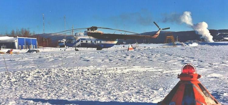 Аэропорт Байкита, где все случилось. Фото: ГУ МЧС России по Красноярскому краю.