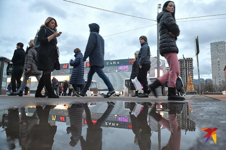 В последние годы декабрь в Москве выдаётся дождливым.