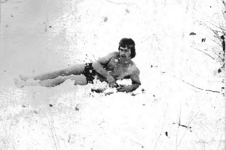 Впервые в качестве «моржа» Щепин искупался 10 мая 1969 года.