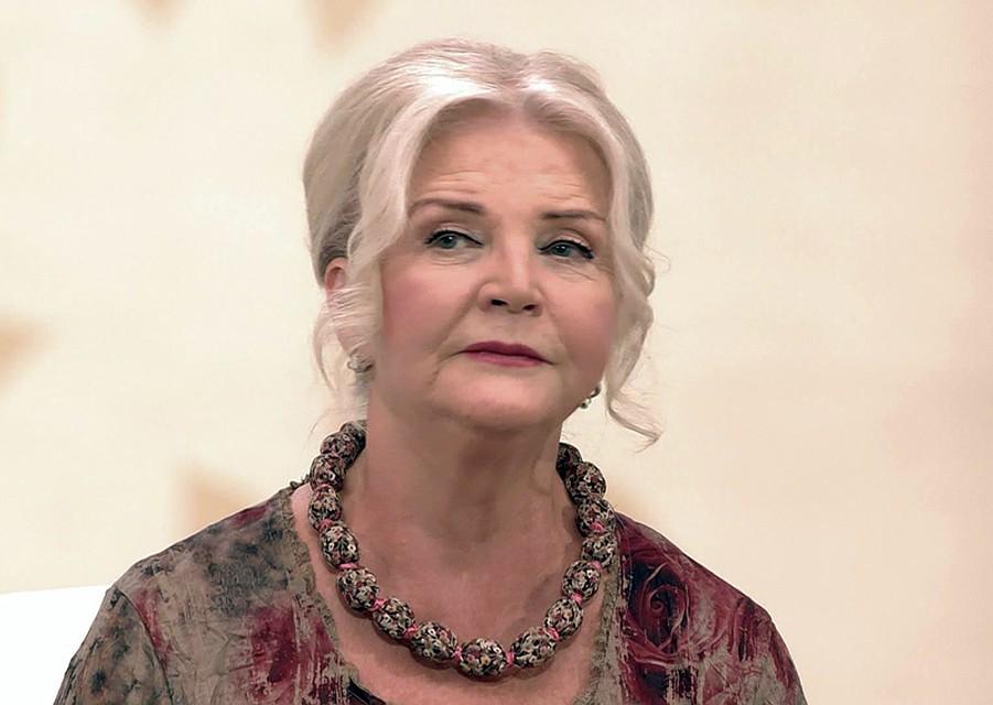"""Актриса несколько недель назад отпраздновала 70-летний юбилей Фото: Телеканал """"Россия"""""""