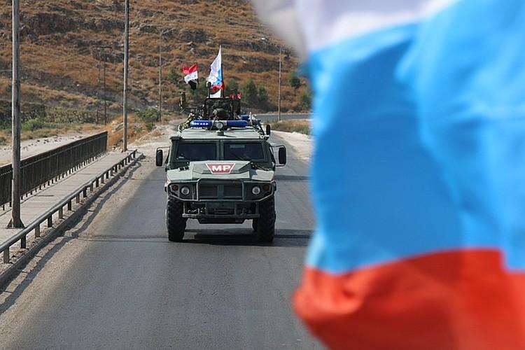 Наши «Тигры» патрулируют север Сирии