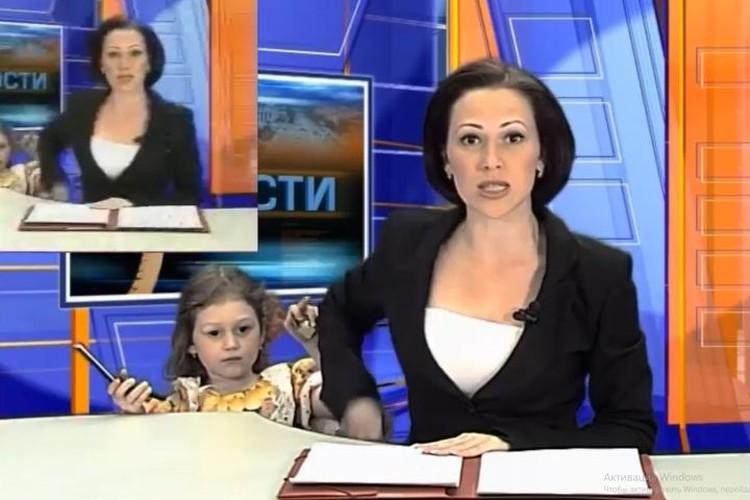 Девочка всегда приносила маме телефон, когда тот звонил, вот и в тот раз решила принести, несмотря на прямой эфир. Фото: https://www.youtube.com/user/ZertsMen