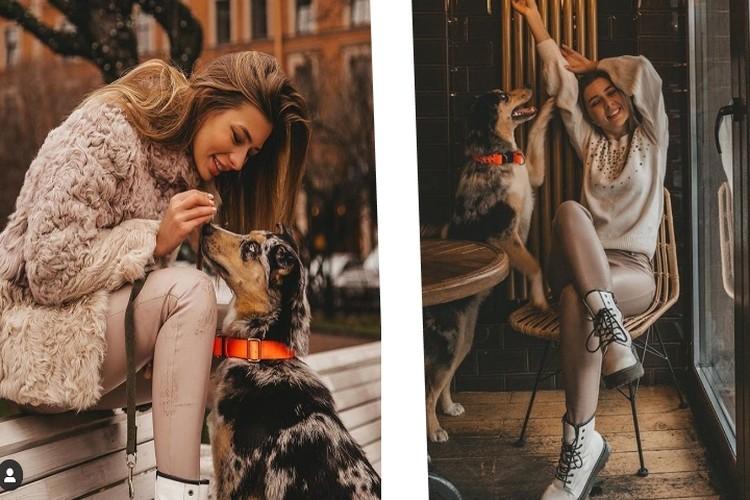 Собака нашла свое счастье, а Ксения - свое