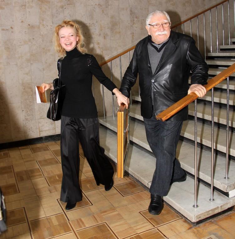 Виталина и Армен Джигарханян были мужем и женой с 2010 года, не расставались, всегда были вместе.
