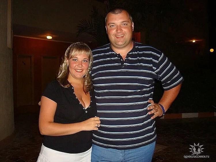 Марина с мужем Николаем. До этого мужчина работал в ГИБДД. Фото: соцсети