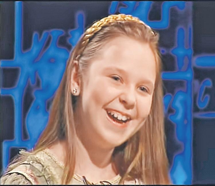 На этом кадре Пелагее 11 лет. Фото: Скриншот видео