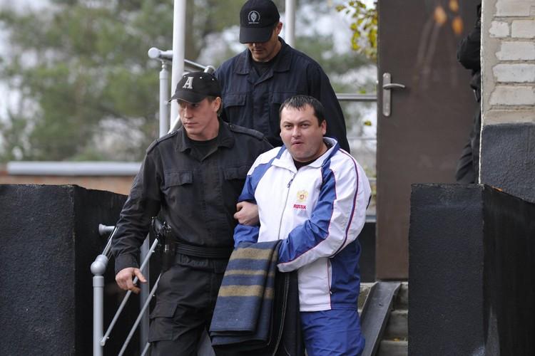 Задержание Ходыча в 2010 году