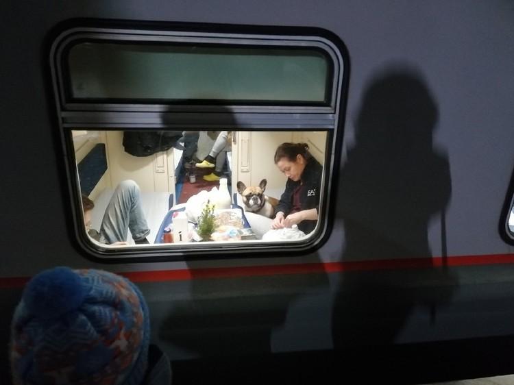 В двухэтажных поездах уютно и комфортно.