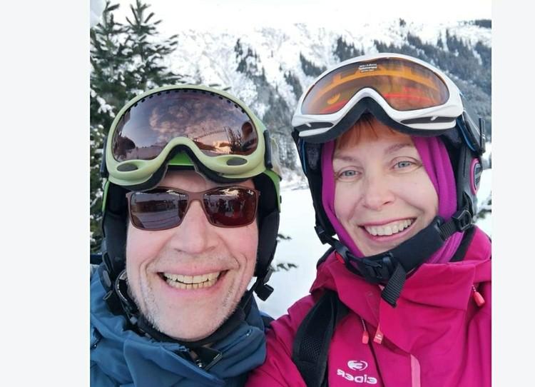 Ольга с мужем