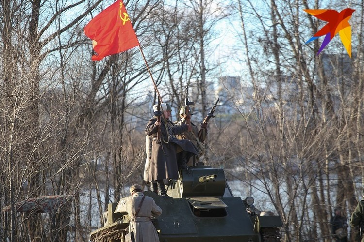 Реконструкция боев за Воронеж 2020.