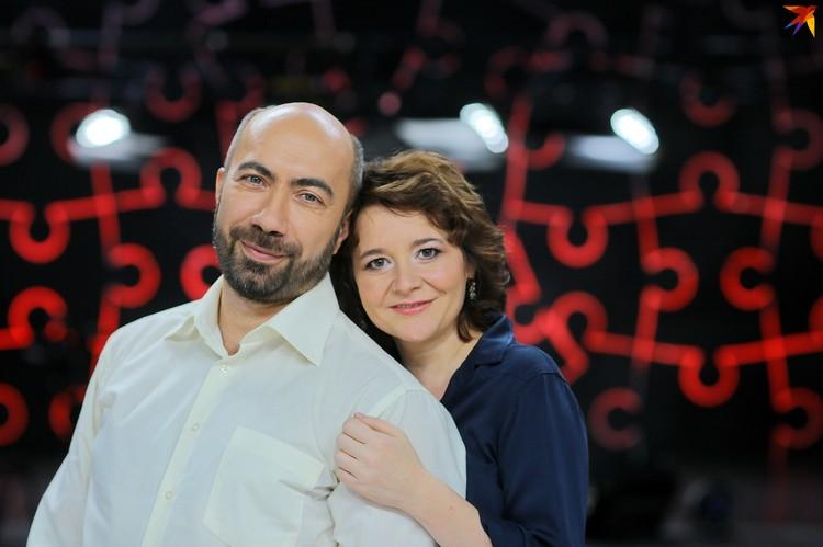 Психолог Константин Довлатов с супругой Эльмирой.