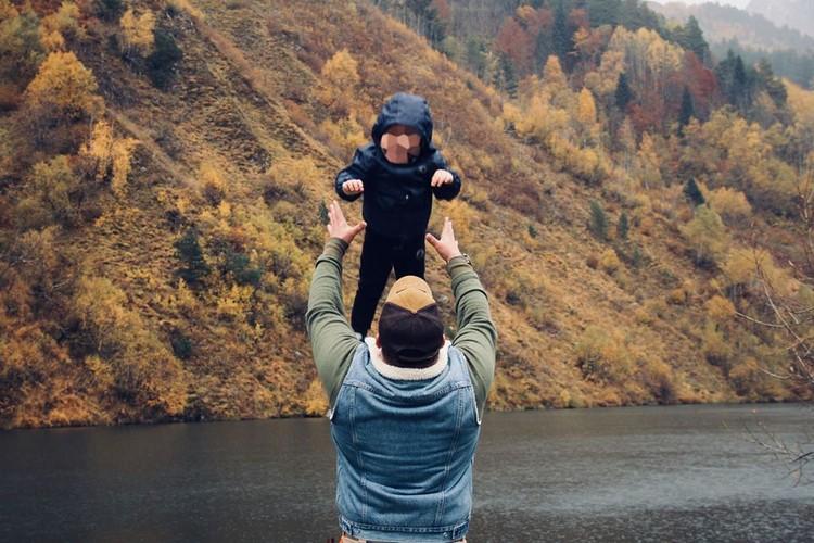 Аслан Алиев с сыном