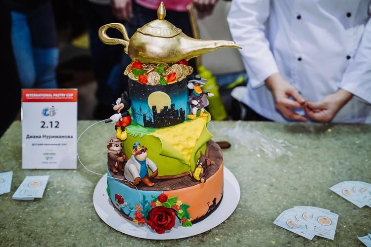 От некоторых тортов так и веет волшебством